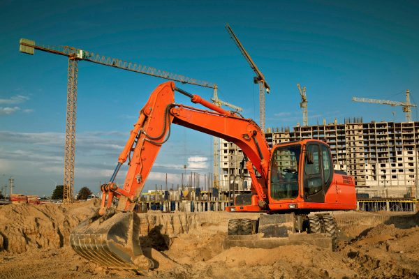 Distence remote monitoring of construction sites